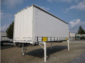Noņemamā kravas kaste Krone - Schiebeplane - LACK + PLANEN NEU