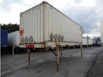 / - BDF System 7.450 mm lang, - noņemamā virsbūve - furgonj