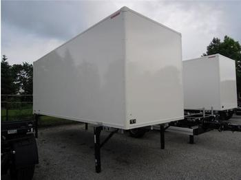 Sommer - BDF System 7.450 mm lang, Unterbau FEUERVERZINKT, FABRIKNEU! - noņemamā virsbūve - furgonj