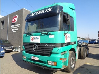 Nyergesvontató Mercedes-Benz Actros 3348 S Steel/blatt V8 Top condition