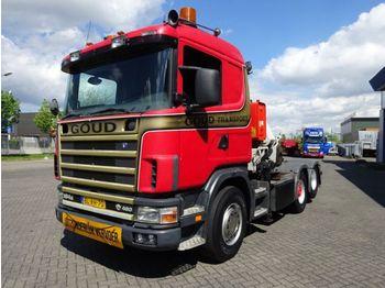 Scania  - nyergesvontató