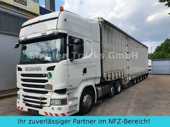 Scania R 490 6X2  DINKEL 5-Achs Maschin/Schwerlast ZUG!  - nyergesvontató