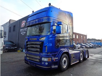 Nyergesvontató Scania R 620 Topline Extreme Showtruck Full air