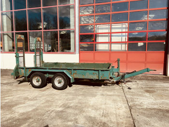 Obermaier  Tandemtieflader  - عربة مسطحة منخفضة مقطورة