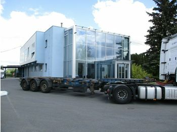 Krone SDC27  - containertransporter/ wissellaadbak oplegger