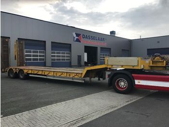 Kaiser 2-axle Low loader, with Ramps, Hydro-Winch, S 380 2F - dieplader oplegger