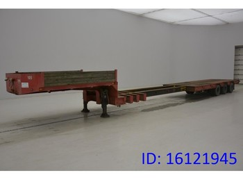 Dieplader oplegger Robuste Kaiser Low bed trailer
