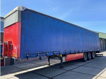 Huif oplegger Schmitz Cargobull S01   Hubdach   NEU TUV   2x Liftachse
