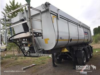 Schmitz Cargobull Tipper Steel half pipe body 28m³ - kipper oplegger