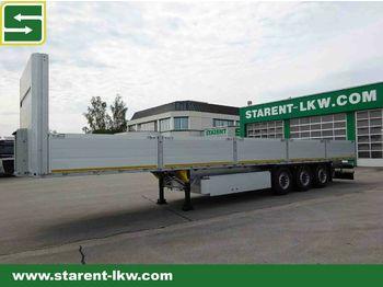 Open bak met boorden oplegger Schmitz Cargobull Baustofftrailer, 80 cm Bordwand, Liftachse, NEU