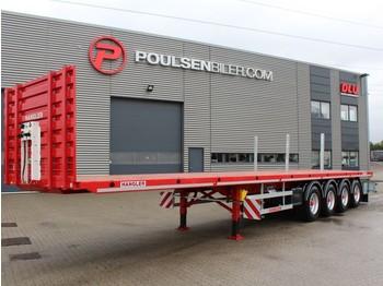Platform oplegger Hangler 4-axle open trailer