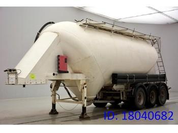 Tank oplegger Feldbinder Cement bulk