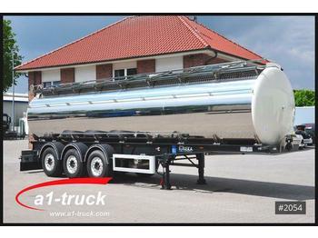 Feldbinder SEKA Edelstahl 3 Kammern  31m³ 5950 Kg, Lebensmi  - tank oplegger