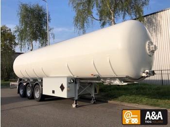 Hobur Burg LPG GPL propane butane - ADR 09/2020 - P27BN - 50.000 litres - tank oplegger