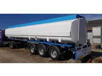 Kässbohrer 43000 Liter Fuel/Diesel Petrol Pomp Meter - tank oplegger