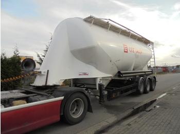 Tank oplegger Kässbohrer SSL 35