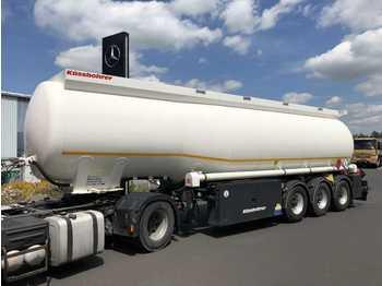 Kässbohrer STB - TADR 4 Kammern 39.250Liter BPW-Achsen  - tank oplegger