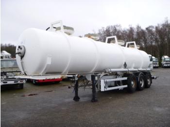 Maisonneuve Chemical ACID tank 24.4 m3 / 1 comp - tank oplegger