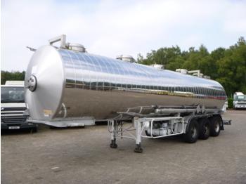 Maisonneuve Chemical tank inox 32.5 m3 / 1 comp - tank oplegger