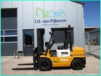 Viljuškar sa 4 točka Halla HDF30 3t diesel triplex 4.7m + sideshift doorrij 212cm!