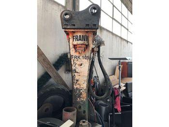 Młot hydrauliczny Frank Co. FRK105, flangia d'innesto Volvo