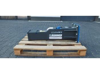 Młot hydrauliczny HAMMER HM 250 Hydraulic breaker 230 KG