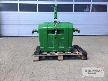 1150 kg - przeciwwaga