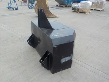 Unused Empty Front Counter Weight to suit 3 Point Linkage - przeciwwaga