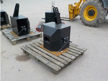 Unused Front Weight Pack to suit 3 Point Linkage - przeciwwaga