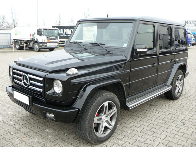 Mercedes benz g 320 cdi 4x4 7g tronic amg style ahk voll for 1999 mercedes benz e300 turbo diesel for sale