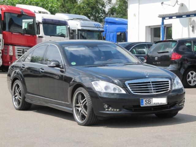 Mercedes benz s 420 cdi l dpf 7g tronic car from germany for Mercedes benz s 420