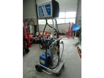 Garage equipment AD blue Tankinstallatie
