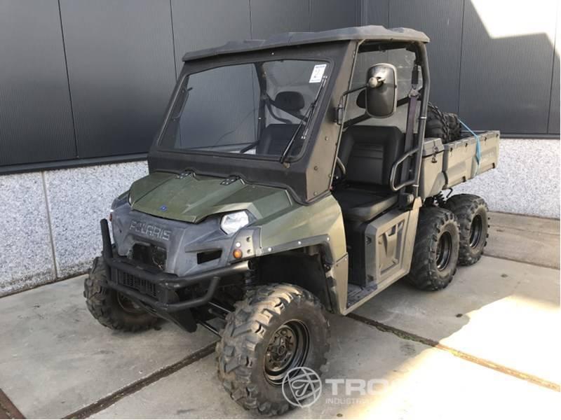 6x6 polaris atv ranger vtt quad att vehicle truck1 quads atvs 2009