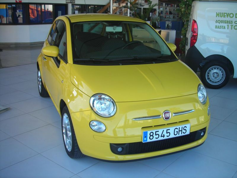 fiat 500 1 4 sport car from spain for sale at truck1 id 746098. Black Bedroom Furniture Sets. Home Design Ideas