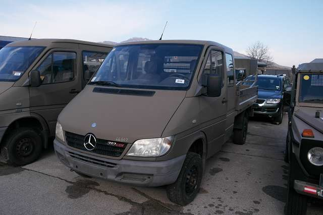 mercedes-benz sprinter 313 cdi/4x4 car from austria for sale at