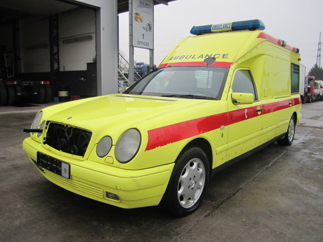 Mercedes-Benz Ambulance Car From Belgium For Sale At