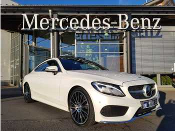 Mercedes-Benz C 300+AMG+COUPE+DISTR+PANO+ MEMORY+BURMESTER+AIR  - car