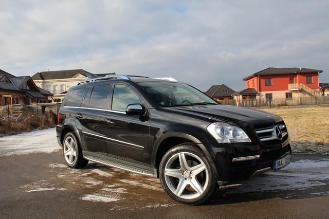 Mercedes benz gl 320 cdi amg facelift top car from czech for Mercedes benz gl 320