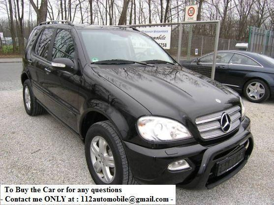 mercedes benz ml 400 cdi final edition car from slovakia. Black Bedroom Furniture Sets. Home Design Ideas