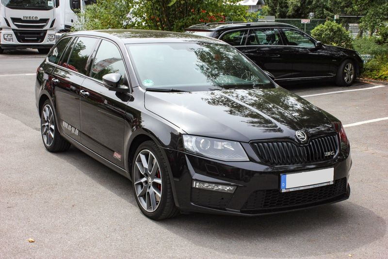 skoda octavia combi rs 2.0 tdi dsg euro 6 car from germany for sale