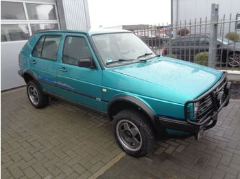 Car Volkswagen Golf Country Syncro