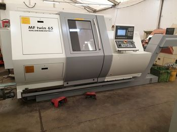Machine tool ABG GILDEMEISTER MF Twin 65 tokarka