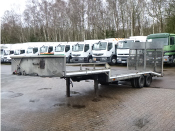 Veldhuizen Semi-lowbed trailer P37-2 + ramps + winch - other machinery