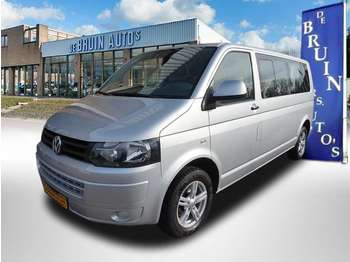 Minibüs Volkswagen Transporter 2.0 TDI 140PK L2 Automaat Caravelle 9 persoons