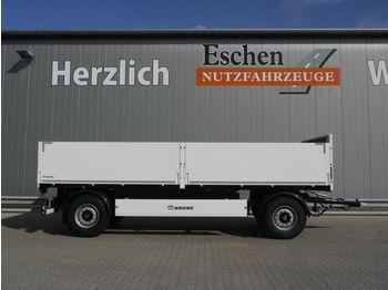 Krone AZP 18 Baustoffanhänger 6900mm, Sofort verfügbar  - fladvogn påhængsvogn