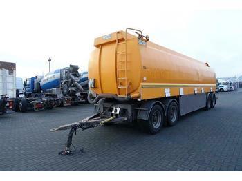 STOKOTA TANK 38600 LITER 4-AXLE BPW  - tankbil påhængsvogn