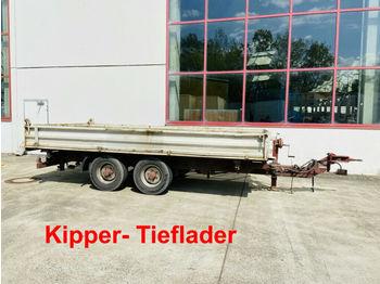Blomenröhr  Tandemkipper- Tieflader  - tipvogn påhængsvogn