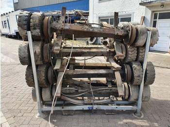 BPW Heavy Balast axles - eje posterior