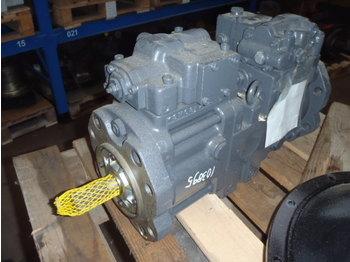 KAWASAKI K3V63DTP168R-9N2B (CASE CX130) - pompa hidraulike