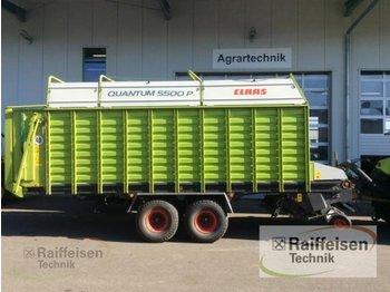 CLAAS Ladewagen Quantum 5500 P - prikolica sa automatskim punjenjem